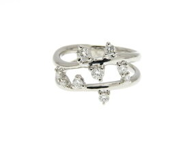 JEWELRY ノーブランドジュエリー リング 指輪 プラチナ900 ダイヤモンド 14.5号 【205】【中古】【大黒屋】