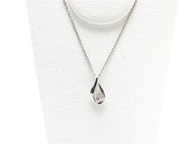4℃ ヨンドシー ネックレス ダイヤモンド プラチナ PT850/D【435】【中古】【大黒屋】