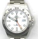 【送料無料】ROLEX  ロレックス  時計  エクスプローラー2 オートマチック ステンレススチール 216570 【433】【中…