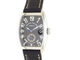 【送料無料】FRANCK MULLER フランクミュラー 時計 カサブランカ 170S6 手巻き  黒【432】【中古】【大黒屋】