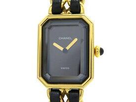 CHANEL シャネル 女性用腕時計 プルミエールS ゴールドメッキ 【460】【中古】【大黒屋】