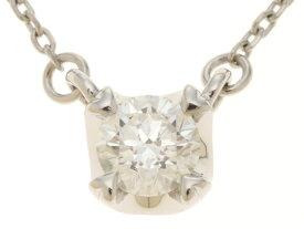 4℃ 貴金属・宝石 ネックレス プラチナ850 ダイヤモンド0.221 約2.2g【472】SS【中古】【大黒屋】