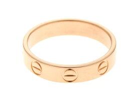 【送料無料】Cartier カルティエ ミニラブリング 指輪 B4085200 PG ピンクゴールド 48号 【460】【中古】【大黒屋】