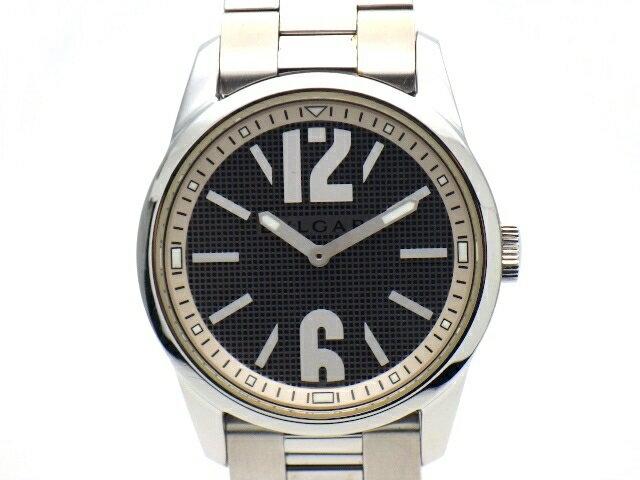 [送料無料]BVLGARI 時計 ソロテンポ メンズ クォーツ SS グレー ST37S 【437】【中古】【大黒屋】