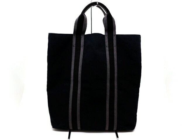 HERMES エルメス バッグ フールトゥカバス トートバッグ キャンバス【200】【中古】【大黒屋】
