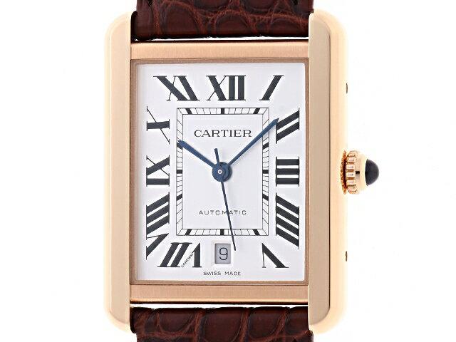 【送料無料】Cartier カルティエ時計 タンク・ソロ XLオートマチック W5200026【472】【中古】【大黒屋】