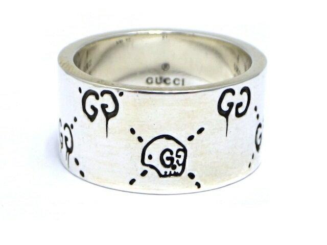 GUCCI グッチ SV グッチゴーストリング 21号 【430】【中古】【大黒屋】