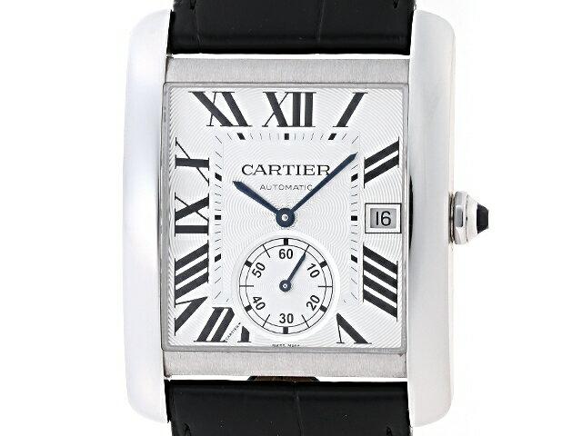 【送料無料】Cartier カルティエ 時計 タンクMC W533003 シルバー文字盤 メンズ 自動巻き 【200】【中古】【大黒屋】