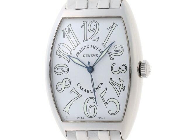 【送料無料】FRANCK MULLER フランクミュラー 時計 カサブランカ オートマチック カサブランカ 【203】【中古】【大黒屋】