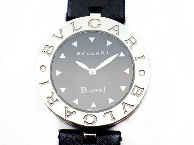 【送料無料】BVLGARI ブルガリ 時計 クオーツ B-zero1 ビーゼロワン SS ステンレススチール BZ30S 黒文字盤【437】【中古】【大黒屋】