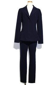 [送料別]Christian Dior クリスチャンディオール スーツ レディース 38/38 ネイビー ウール ジャケット パンツ 6A21233A1116 【200】【中古】【大黒屋】