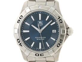 【送料無料】TAG HEUER 時計 アクアレーサー WAP1112 クオーツ SS ブルー文字盤【472】【中古】【大黒屋】