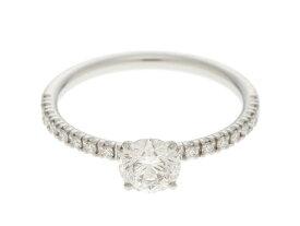 【送料無料】Cartier カルティエ Pt950 ダイヤモンド エタンセルドゥカルティエリング 46号 【430】【中古】【大黒屋】