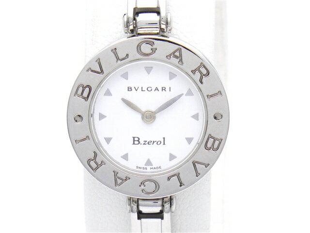 【送料無料】BVLGARI ブルガリ 時計 B-zero1 BZ22S  クオーツ 白文字盤 レディース 【438】【中古】【大黒屋】
