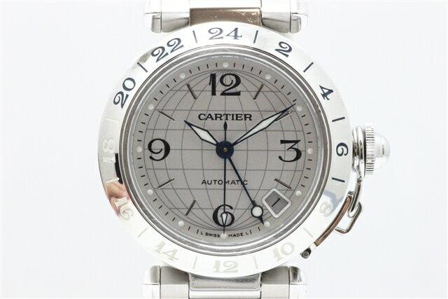 「送料無料」Cartier カルティエ SS パシャC メリディアン 自動巻 【412】【中古】【大黒屋】