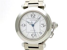 【送料無料】Cartier カルティエ 時計 パシャC W31074M7 オートマチック SS 【472】【中古】【大黒屋】