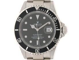 【送料無料】ROLEX ロレックス メンズ 時計 自動巻き オートマチック サブマリーナ ステンレス ブラック 300m防水 Z番2006年頃 【436】【中古】【大黒屋】