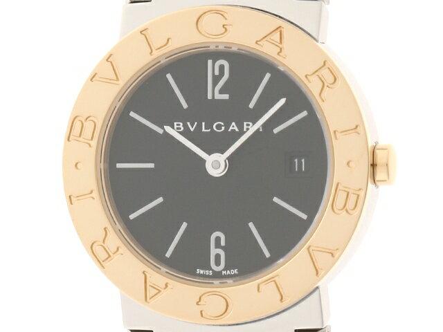 【送料無料】BVLGARI 時計 ブルガリブルガリ クオーツ/YG/SS/55.4g【205】【中古】【大黒屋】