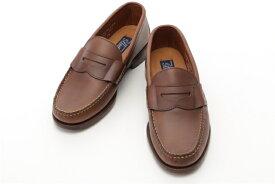 Cole Haan コールハーン 革靴 ローファー PINCH USA MENS C23931 メンズ8 ブラウン レザー【432】【中古】【大黒屋】