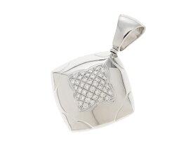 【送料無料】BVLGARI ブルガリ WG ダイヤモンド ピラミデ ペンダントトップ 【430】【中古】【大黒屋】