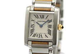 【送料無料】Cartier カルティエ タンクフランセーズSM W51007Q4 YG/SS クオーツ 【472】【中古】【大黒屋】