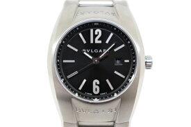 【送料無料】BVLGARI ブルガリ エルゴン クオーツ ブラック EG30S【435】【中古】【大黒屋】