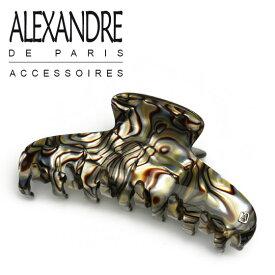 アレクサンドルドゥパリ ヘアクリップ(L) ヘアアクセサリー オニキス ACCL-7706-O ALEXANDRE DE PARIS バンスクリップ ブランド髪飾り通販 ギフト可