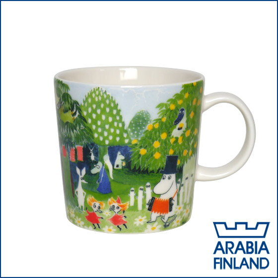 【3%offクーポン】限定!アラビア(Arabia) ムーミン(moomin) マグ ムーミンバレー(Moomin valley) 2017年限定モデル 100331 マグカップ 北欧 食器 ギフト・のし可 GF1
