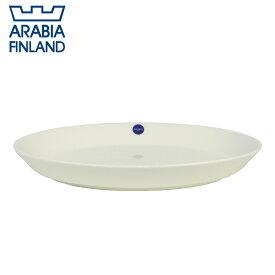 【Max1,000円OFFクーポン】アラビア(Arabia) ココ(koko) オーバルプレート18×26 ホワイト 北欧 食器