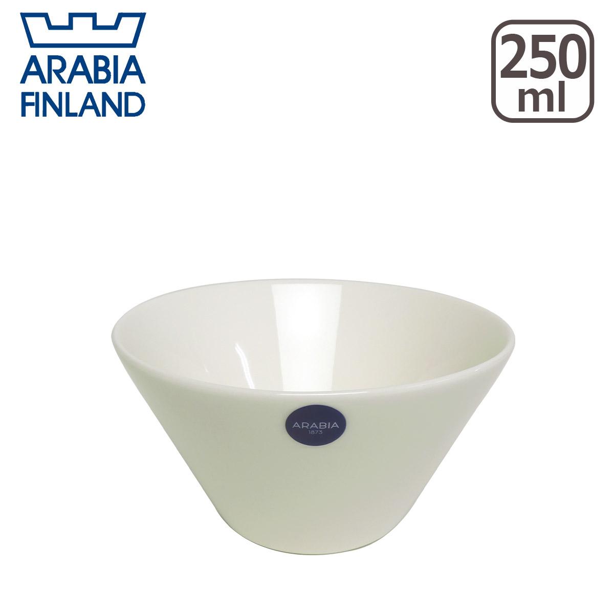 【3%offクーポン】アラビア(Arabia) ココ(koko) ボウル 250ml ホワイト 北欧 フィンランド 食器 Arabia 食器洗い機 対応 ギフト・のし可