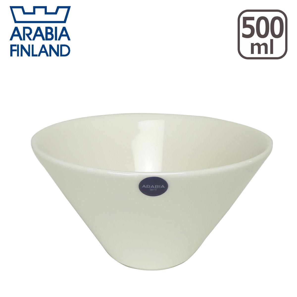 【3%offクーポン】アラビア(Arabia) ココ(koko) ボウル 500ml ホワイト 北欧 食器 ギフト・のし可 GF3