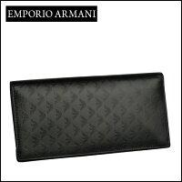 EmporioArmani(エンポリオ・アルマーニ)長財布小銭入れ付きYEM474YC043ブラック