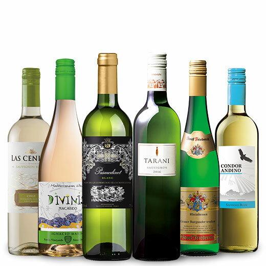 ポイント10倍!デイリーに楽しむ白ワイン6本 ワインセット チリワイン シャルドネ 北海道・沖縄は別途540円加算