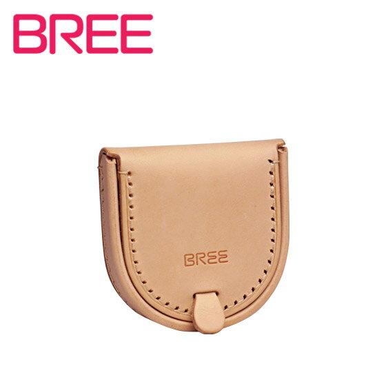 【訳あり】BREE(ブリー) ヌメ革 コインケース NATURE(ネイチャー) J 9