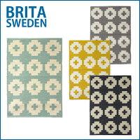 ブリタスウェーデンBritaswedenキッチンマット/玄関マットプラスティックラグFlower70x100cm選べるカラー♪