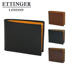 エッティンガー 財布 二つ折り小銭入れ付き BH141JR ギフト・のし可