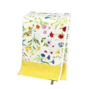 フェイラー バスタオル FEILER フラワーメドウ イエロー 75x150cm Chenille Bath Towel Flower Meadow ギフト・のし可
