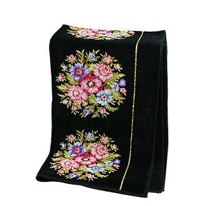 フェイラー バスタオル ビエンナ ブラック FEILER 75x150cm Chenille Bath Towel Viennna Black ギフトに最適 日用品雑貨 ギフト・のし可