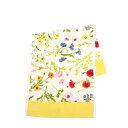 【ポイント5倍 12/1】フェイラー ハンドタオル 37cm×80cm Flower Meadow ・イエロー FEILER Chenille Guest Towel ギフト・のし可