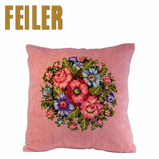 フェイラー クッションカバー ビエンナ ピンク Pillow Case Vienna Pink ギフト雑貨 FEILER ギフト・のし可 北海道・沖縄は別途945円加算