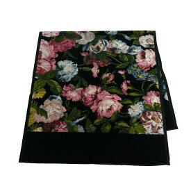 フェイラー スポーツタオル ミッドナイトガーデン ブラック FEILER Sport Towel 50x100cm 抽象画のような絵柄がエレガント ハウスオブハックニーコラボ ギフト・のし可
