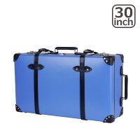 グローブトロッタークルーズ30インチEXTRADEEPSUITCASEW/WHEELSスーツケース2輪ROYALBLUE&NAVY