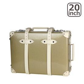 グローブトロッター ロワイヤル 20インチ CHAMPAGNE TROLLEY CASE スーツケース2輪 METALLIC GOLD & IVORY 北海道・沖縄は別途962円加算