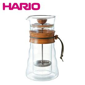 【訳あり・箱なし】HARIO(ハリオ)ダブルグラスコーヒープレス DGC-40-OV 400ml(3杯用)
