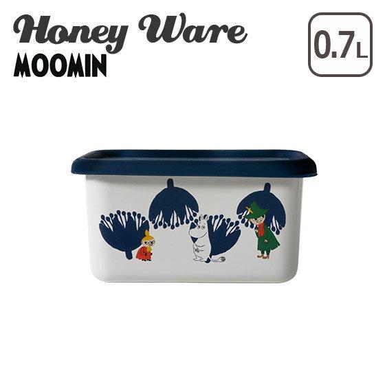 富士ホーロー 琺瑯 深型角容器S ムーミンポーセリンエナメルシリーズ MTA-DS Honey Ware ハニーウェア ギフト・のし可