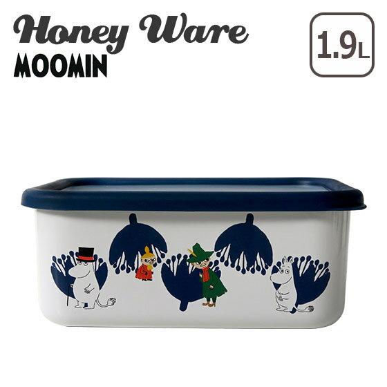 富士ホーロー 深型角容器 L ムーミンポーセリンエナメルシリーズ MTA-DL Honey Ware ハニーウェア ギフト・のし可