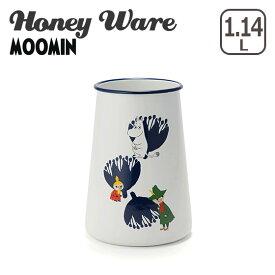 富士ホーロー ムーミン キッチンツールキャニスター ムーミンポーセリンエナメルシリーズ MTA-11KC Honey Ware ハニーウェア ギフト・のし可 琺瑯