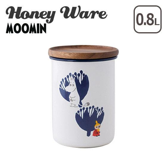 富士ホーロー ムーミン 保存容器 琺瑯 9cmキャニスター L ムーミンポーセリンエナメルシリーズ MTA-9CNL.A Honey Wareハニーウェア ギフト・のし可