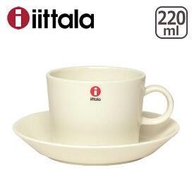 【24時間ポイント5倍】イッタラ iittala ティーマ (TEEMA) コーヒー カップ&ソーサーセット ホワイト マイカップ ita01-c001 北欧 フィンランド 食器 ギフト・のし可 GF3