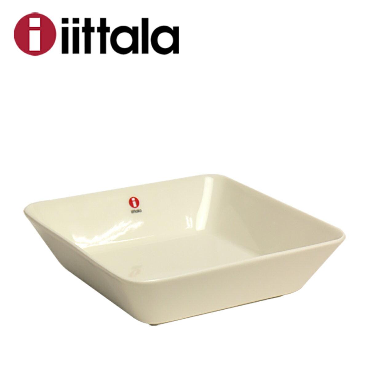 iittala イッタラ TEEMA(ティーマ) スクエアプレート 16cm ホワイト 角皿 ita11-c001
